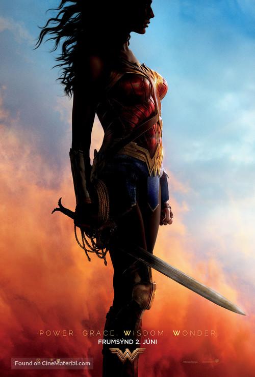 Wonder Woman - Icelandic Movie Poster