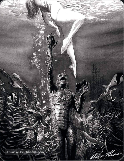 Creature from the Black Lagoon - Spanish Blu-Ray movie cover
