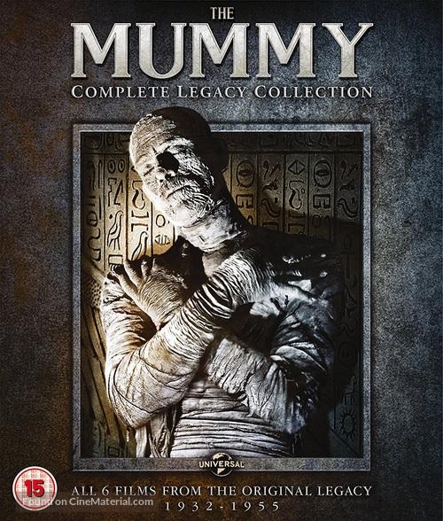 The Mummy - British Movie Cover