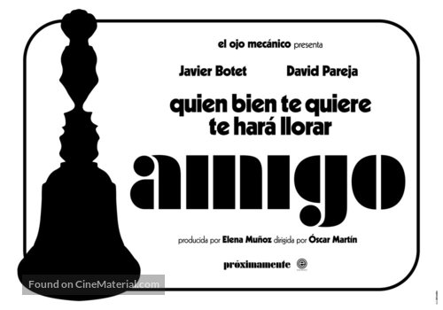 Amigo - Spanish Movie Poster