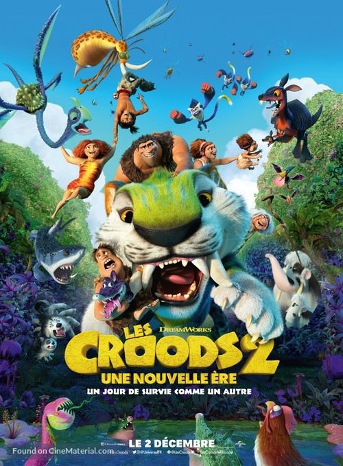 The Croods: A New Age - French Movie Poster