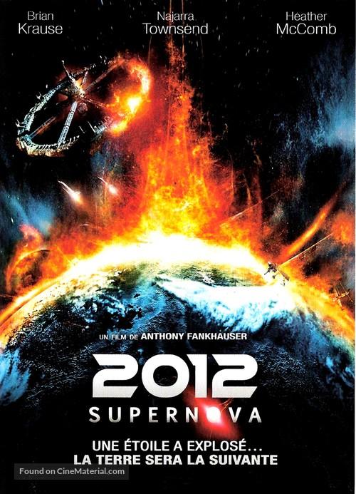 2012: Supernova - French DVD movie cover