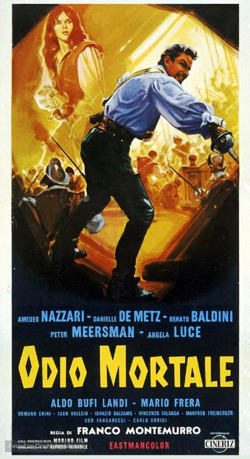 Odio mortale - Italian Movie Poster