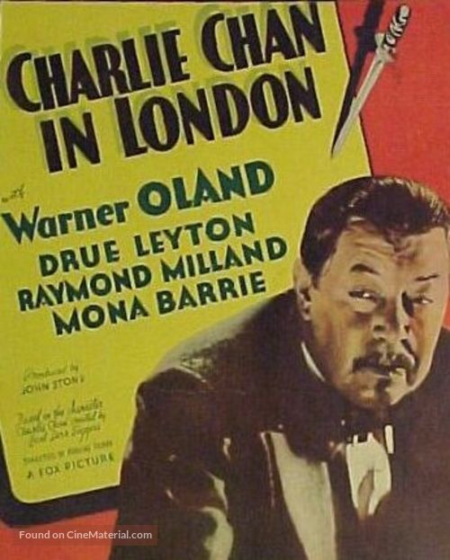 Charlie Chan in London - Movie Poster