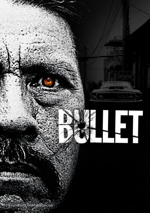 Bullet movie poster 24x36