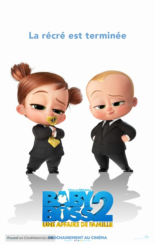 The Boss Baby: Family Business - French Movie Poster