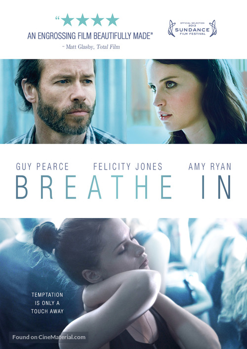 Breathe In - Canadian DVD movie cover