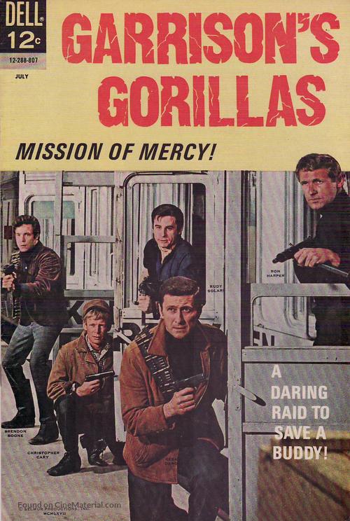 """""""Garrison's Gorillas"""" - Movie Poster"""