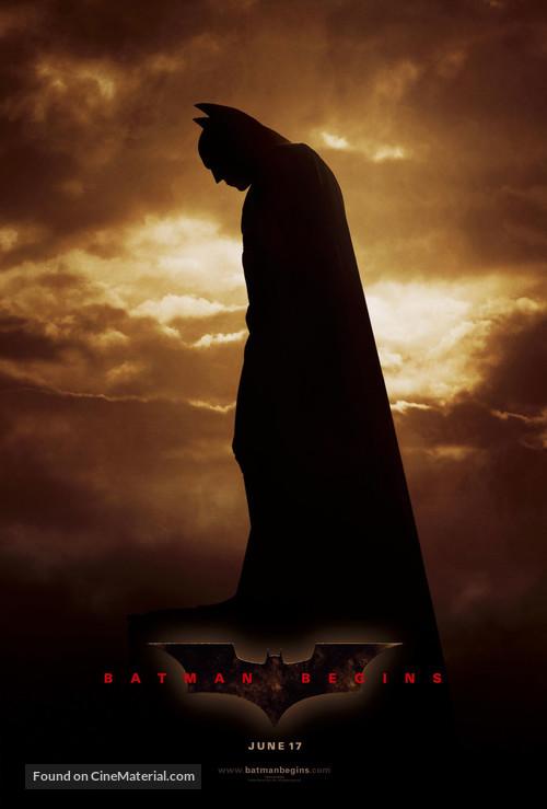 Batman Begins - Movie Poster