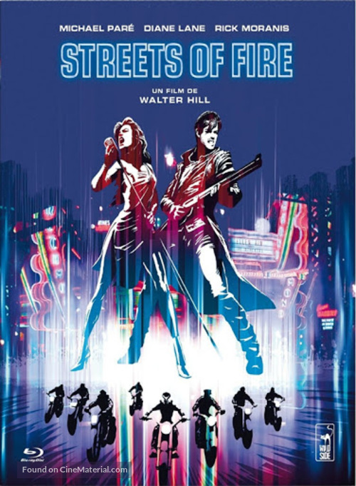 Streets of Fire - French Movie Cover