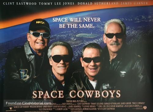 Space Cowboys - British Movie Poster