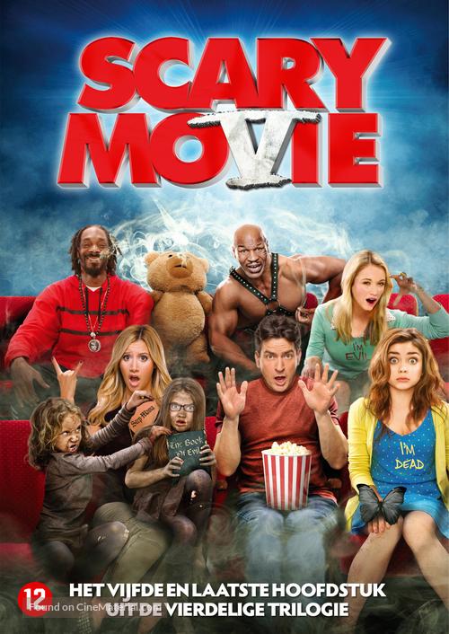 Scary Movie 5 2013 Dutch Dvd Movie Cover