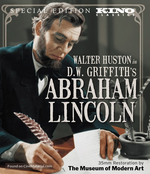 Abraham Lincoln - Blu-Ray movie cover