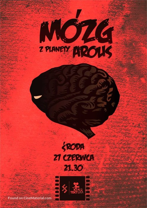 The Brain from Planet Arous - Polish Movie Poster