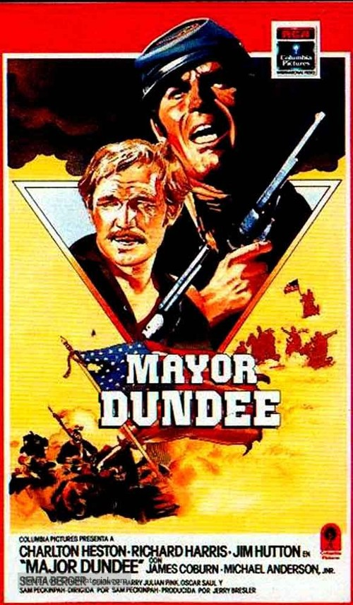 Major Dundee - Spanish Movie Cover