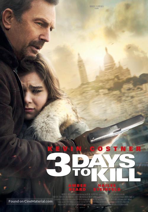 3 Days to Kill - Swiss Movie Poster