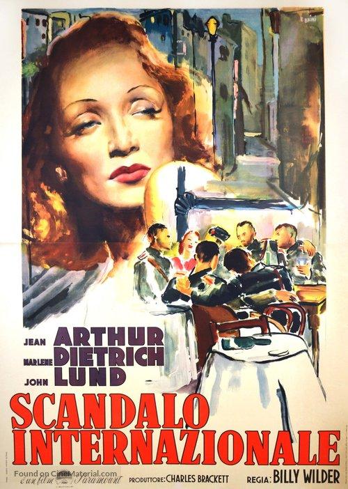 A Foreign Affair - Italian Movie Poster