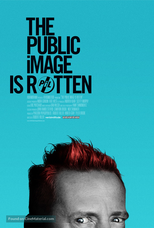 The Public Image is Rotten - Movie Poster