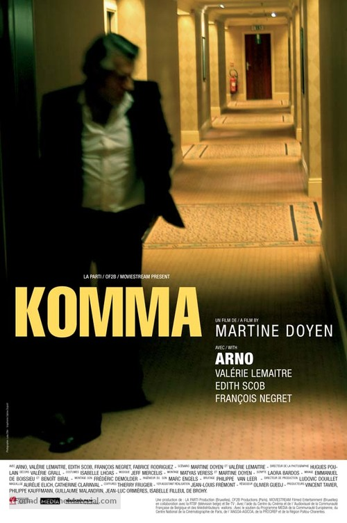 Komma - French poster