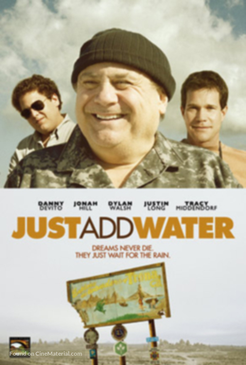 Just Add Water - DVD cover