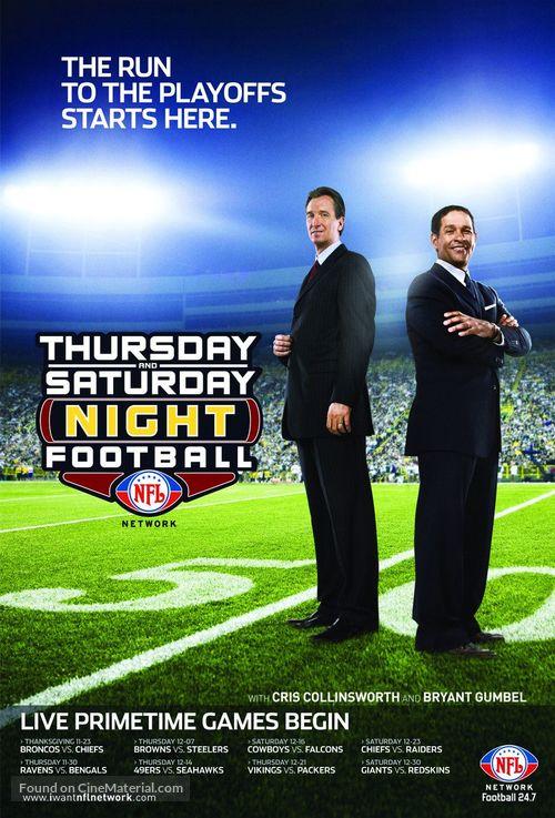 """Saturday Night Football"" - poster"