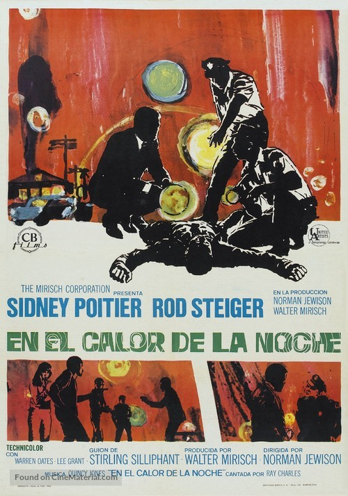 In the Heat of the Night - Spanish Movie Poster