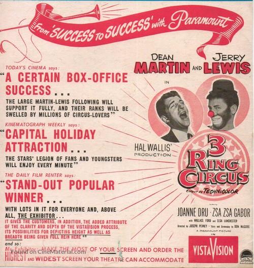 3 Ring Circus - British Movie Poster