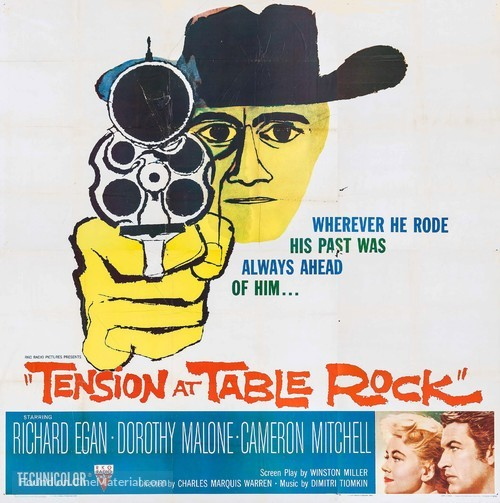 Tension at Table Rock - Movie Poster