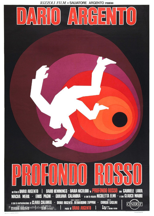 Profondo rosso - Italian Movie Poster