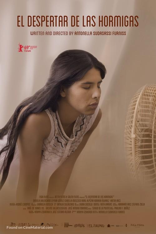 El despertar de las hormigas - Costa Rican Movie Poster