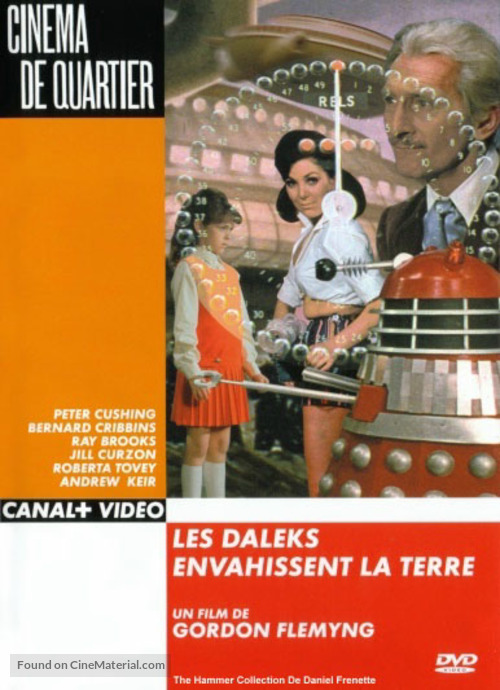 Daleks' Invasion Earth: 2150 A.D. - French DVD cover