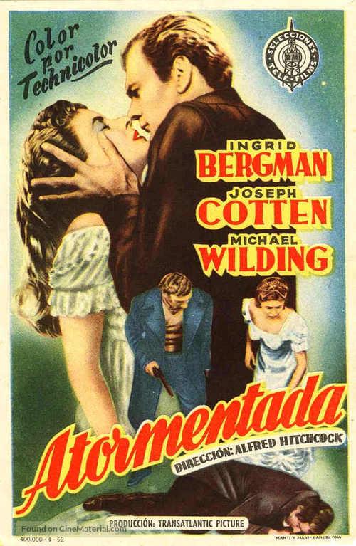 Under Capricorn - Spanish Movie Poster