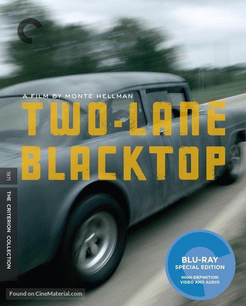 Two-Lane Blacktop - Blu-Ray movie cover