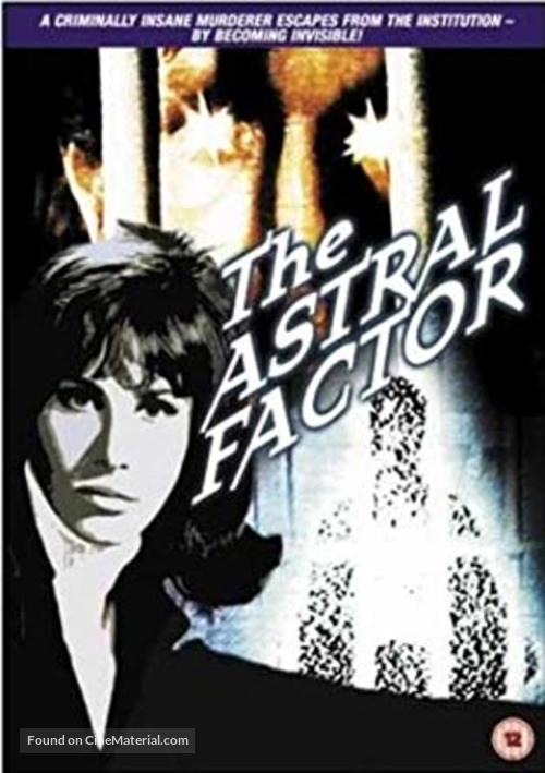 The Astral Factor - British DVD movie cover