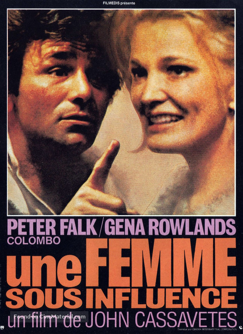 A Woman Under the Influence - French Movie Poster