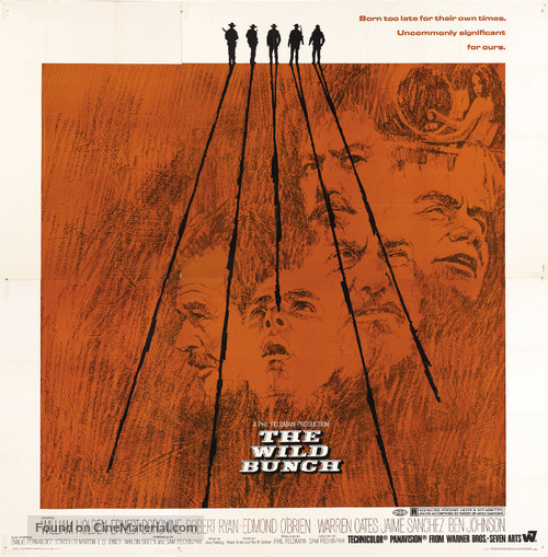 The Wild Bunch - Movie Poster