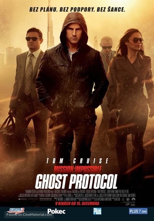 Mission: Impossible - Ghost Protocol - Slovak Movie Poster