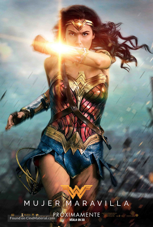 Wonder Woman - Argentinian Movie Poster