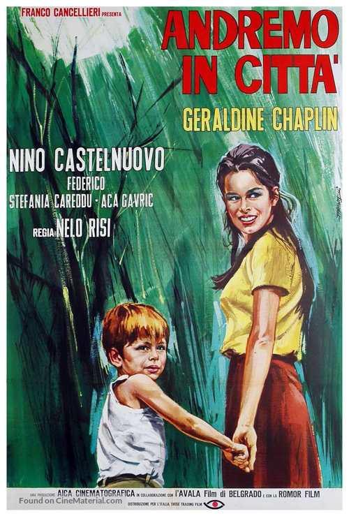 Andremo in città - Italian Movie Poster