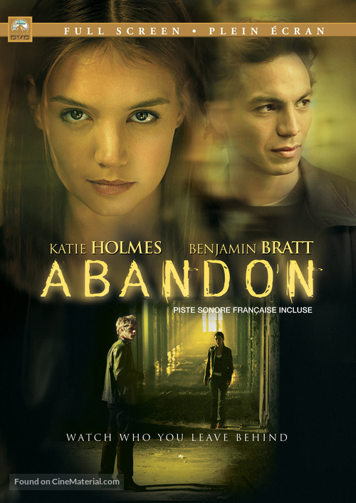 Abandon - Canadian DVD movie cover