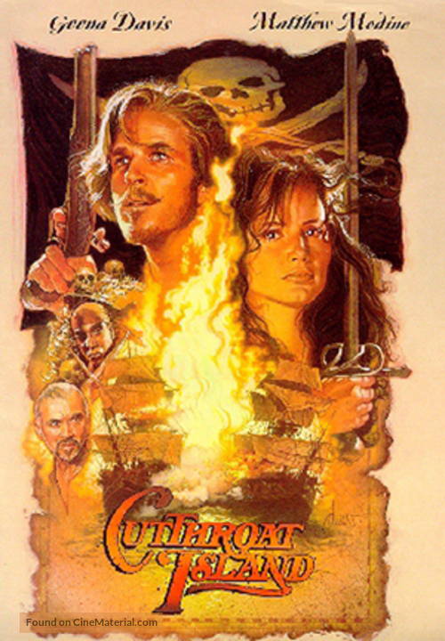 Cutthroat Island - Movie Poster