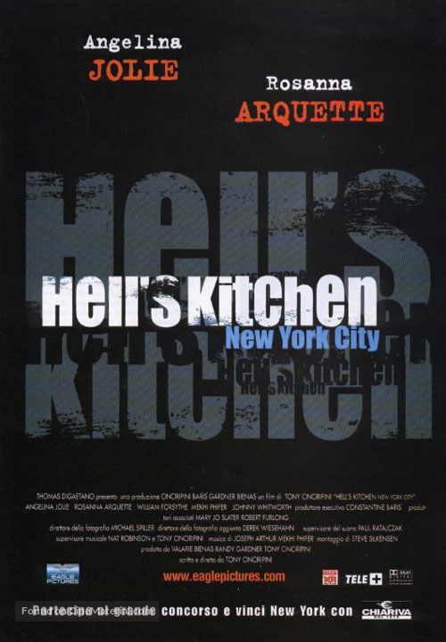 Hell's Kitchen - Italian Movie Poster
