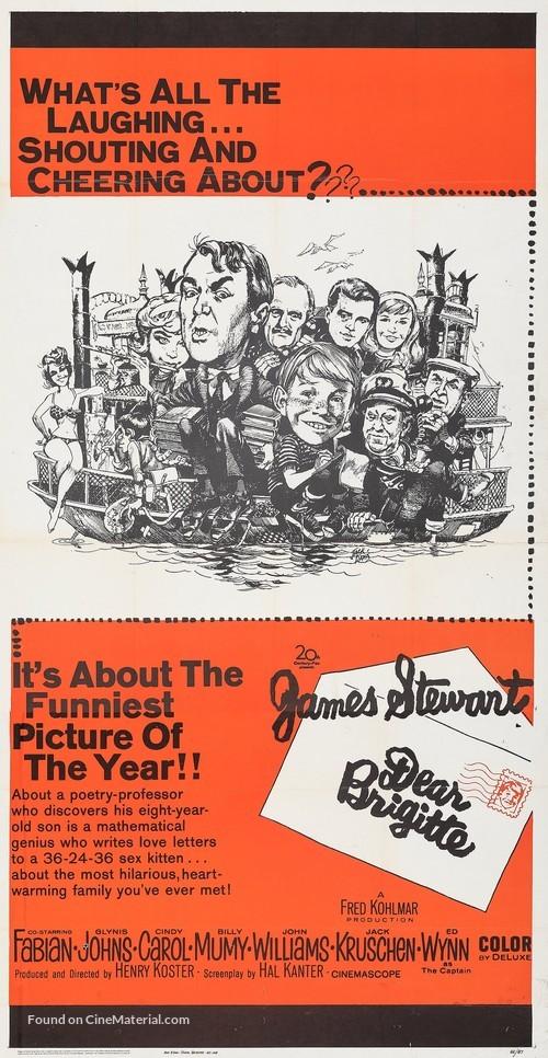 Dear Brigitte - Movie Poster