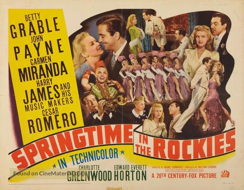 Springtime in the Rockies - Movie Poster