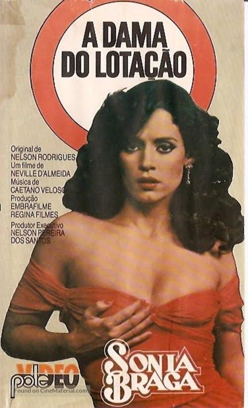 A Dama do Lotação - Brazilian VHS movie cover