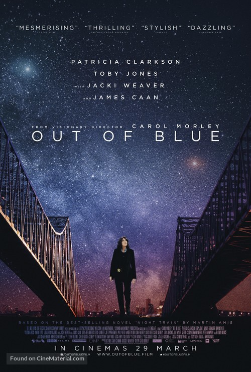Out of Blue - British Movie Poster