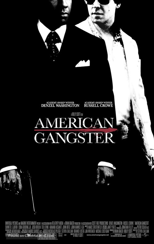American Gangster - Movie Poster
