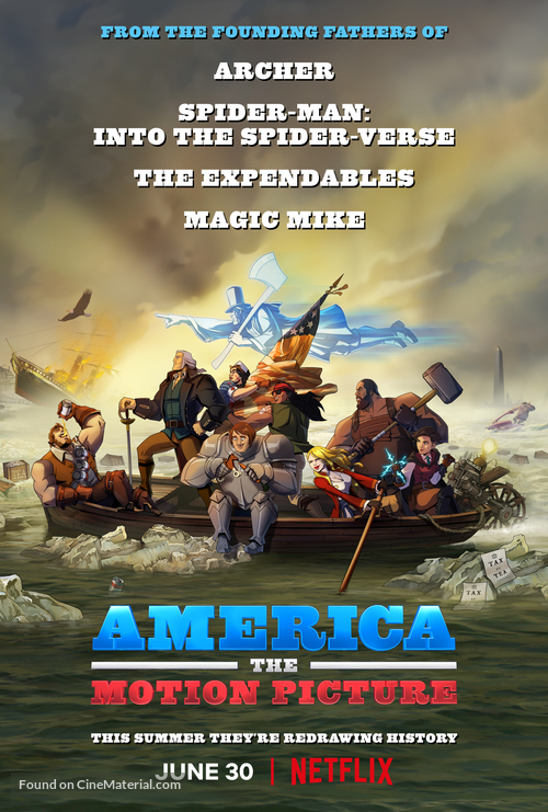 America: The Motion Picture - Movie Poster
