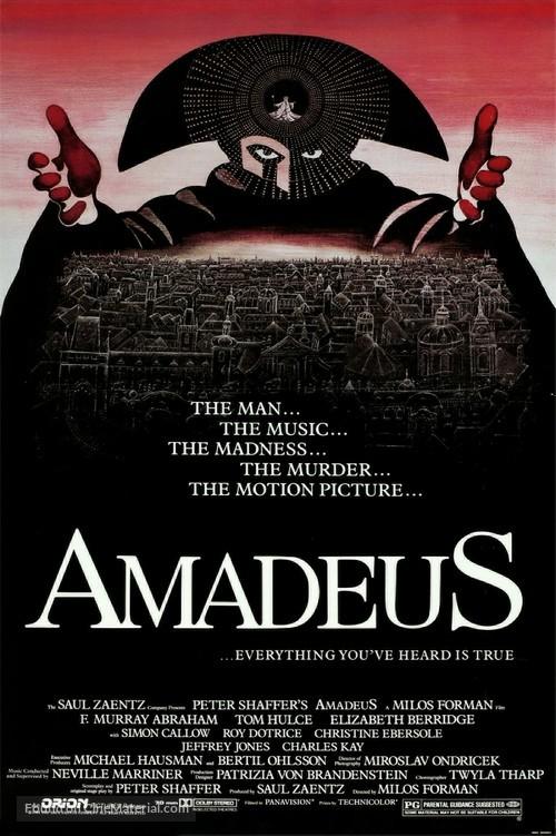 Amadeus - Movie Poster