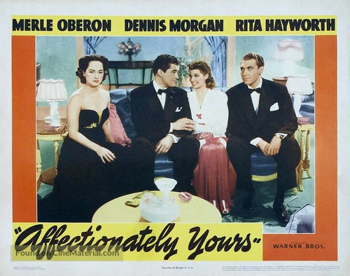 Affectionately Yours - Movie Poster